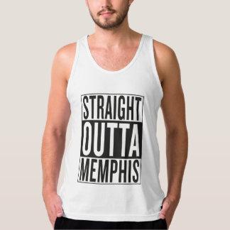 outta recto Memphis Playera De Tirantes