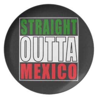 Outta recto México Plato De Comida