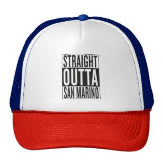 outta recto San Marino Gorras