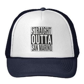outta recto San Marino Gorros Bordados