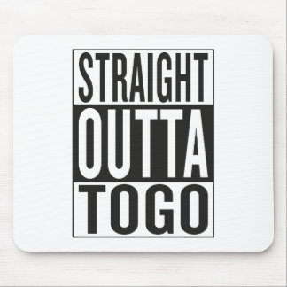 outta recto Togo Mouse Pads