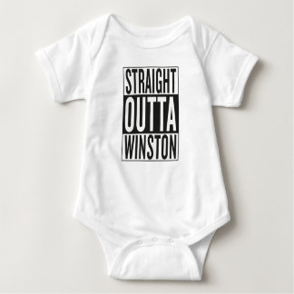 outta recto Winston Body Para Bebé