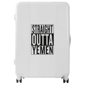 outta recto Yemen Maletas