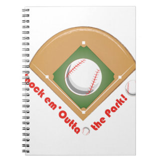 Outta The Park Notebook