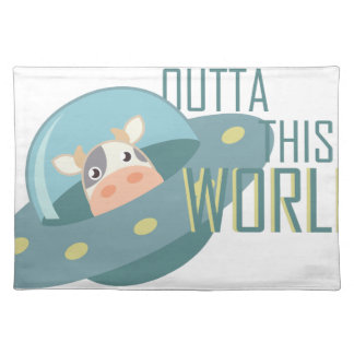 Outta This World Cloth Placemat
