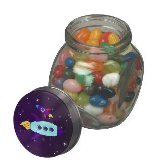 Outta This World! Girl Jelly Belly Candy Jar