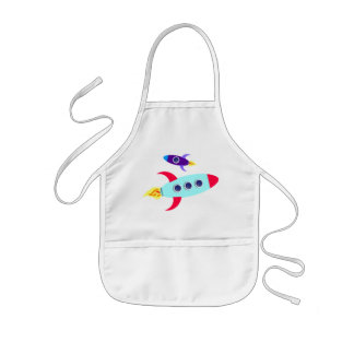 Outta This World! Girl Kids' Apron