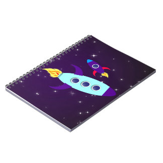 Outta This World! Girl Notebook