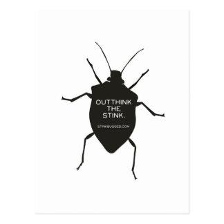 Outthink el hedor (el insecto) postales