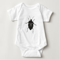 Outthink The Stink (Bug) Baby Bodysuit