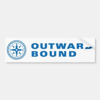 Outward Bound Bumper Sticker Car Bumper Sticker