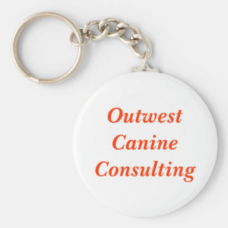 Outwest Canine Consulting Keychains