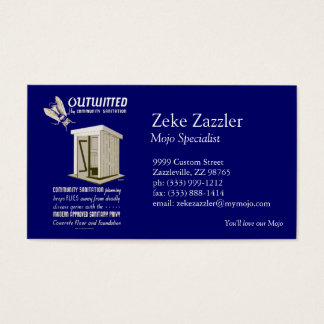 Outwitted by Community Sanitation Business Card