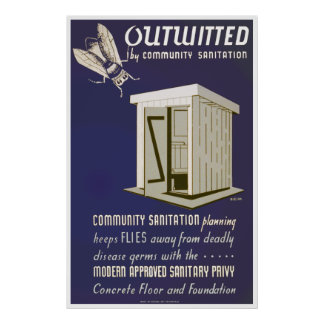 Outwitted by Community Sanitation Print