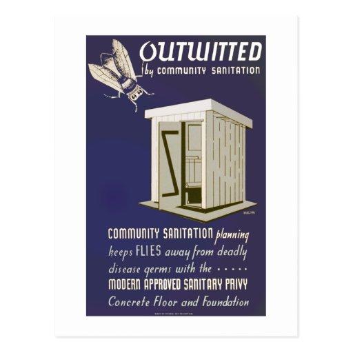 Outwitted por el saneamiento de la comunidad postal
