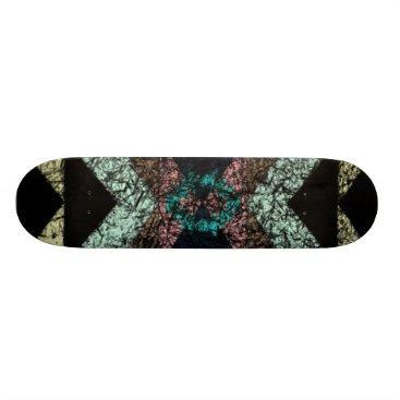 Aztec Themed OutwornTribal Aztek Pattern Skateboard Deck
