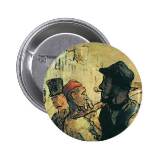Ouvirers de Honore Daumier Pin