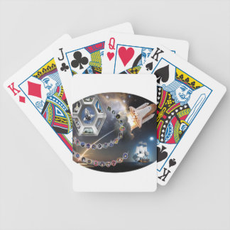 OV 105 Endeavour Bicycle Poker Cards