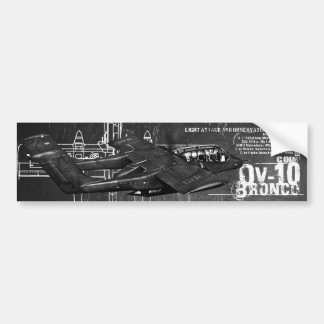 OV-10 Bronco Bumper Sticker