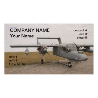 OV-10 Bronco Double-Sided Standard Business Cards (Pack Of 100)