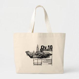 OV-10 Bronco Large Tote Bag