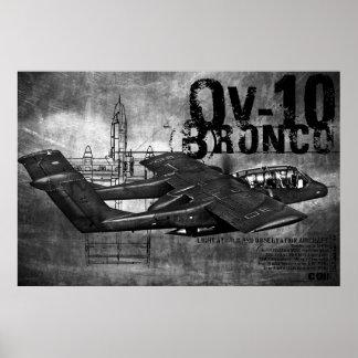 OV-10 Bronco Poster