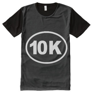 Oval 10K -   Running Fitness -.png All-Over Print Shirt