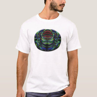 Oval abstract butterfly T-Shirt