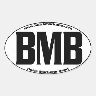Oval Buick MacKane Sticker