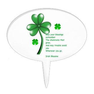 Oval CakePick St. Patrick's Day