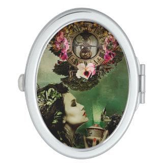 Oval Compact Mirror Dream