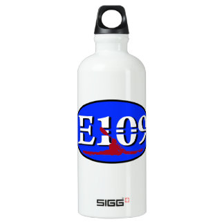 Oval E109 Aluminum Water Bottle