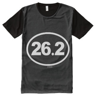 Oval Marathon - 26-2 -   Running Fitness -.png All-Over-Print T-Shirt