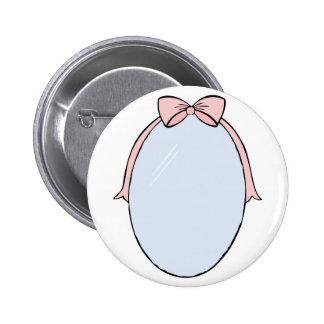 Oval Mirror Pinback Button