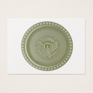 Oval Office Ceiling, Presidential USA Seal Business Card