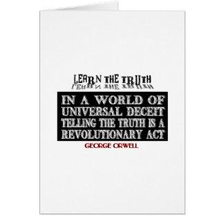 OVAL ORWELL UNIVERSAL DECEIT CARD