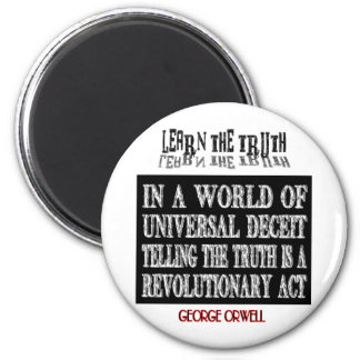 OVAL ORWELL UNIVERSAL DECEIT MAGNETS