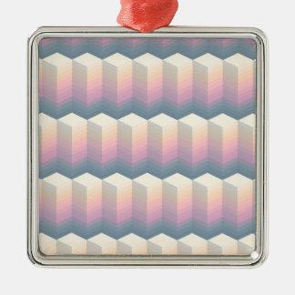 oval pattern metal ornament