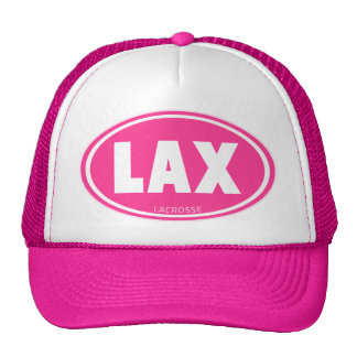 Oval-pink Mesh Hats