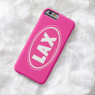 Oval - pink lacrosse iPhone 6 case