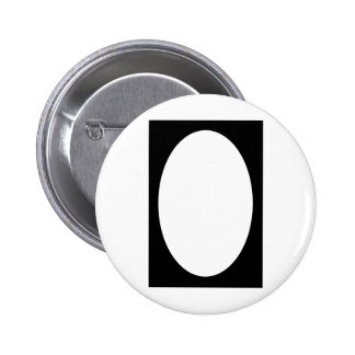 Oval Portrait Black Solid FG The MUSEUM Zazzle Gif Buttons