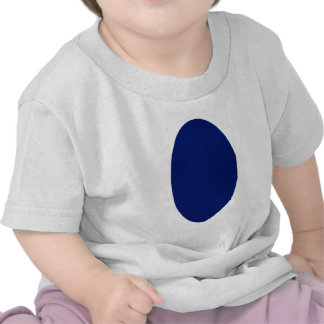 Oval Portrait Blue DK Solid The MUSEUM Zazzle Gift T-shirt