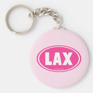 Oval-rosado Llavero Personalizado