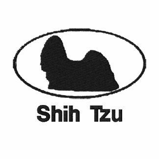 Oval Shih Tzu Embroidered Shirt