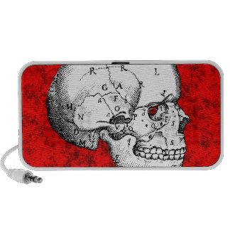 Oval Skull Travelling Speaker