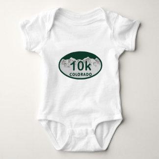 óvalo de la licencia 10k tshirt