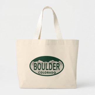 Óvalo de la licencia de Boulder Bolsas