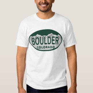 Óvalo de la licencia de Boulder Playeras
