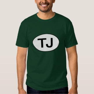 "Óvalo del jeep ""TJ"" Wrangler Playera"
