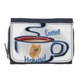 Óvalo del perro del café